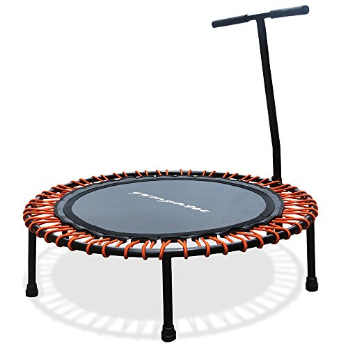Power-Trampolin mit Haltestange