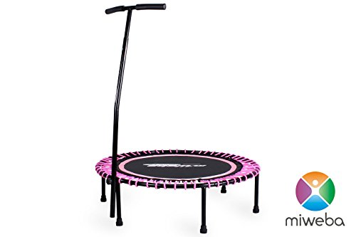 Power Trampolin in Rosa